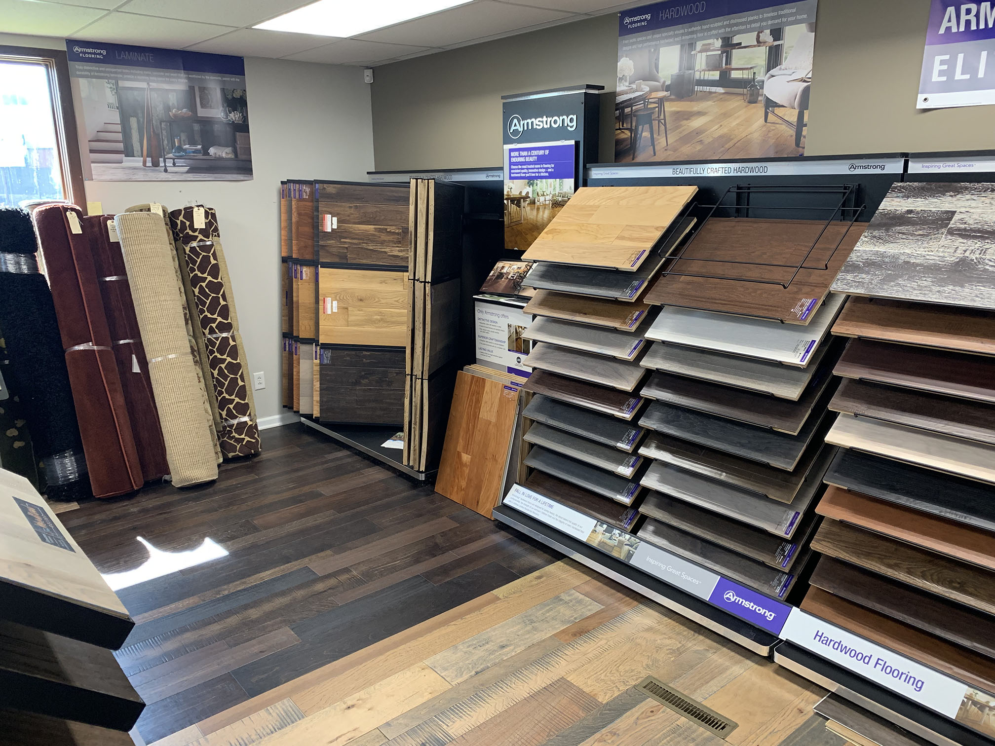 Armstrong flooring display